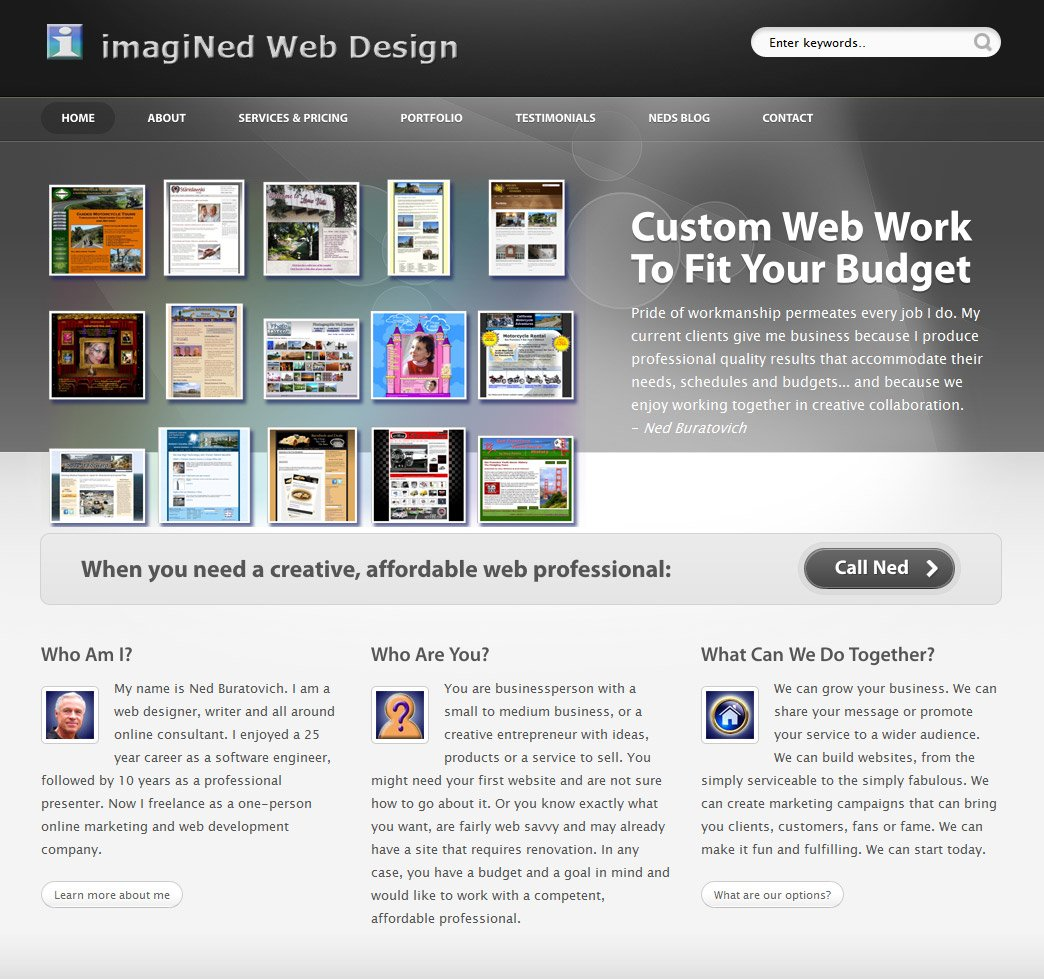 Web Design From Home