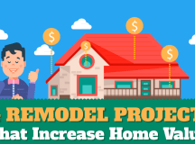 Remodeling & Home Improvement Ideas To Increase Home Value