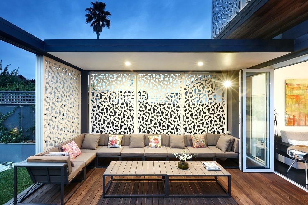 outdoor privacy screen ideas for decks