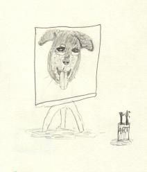 Dog Canvas