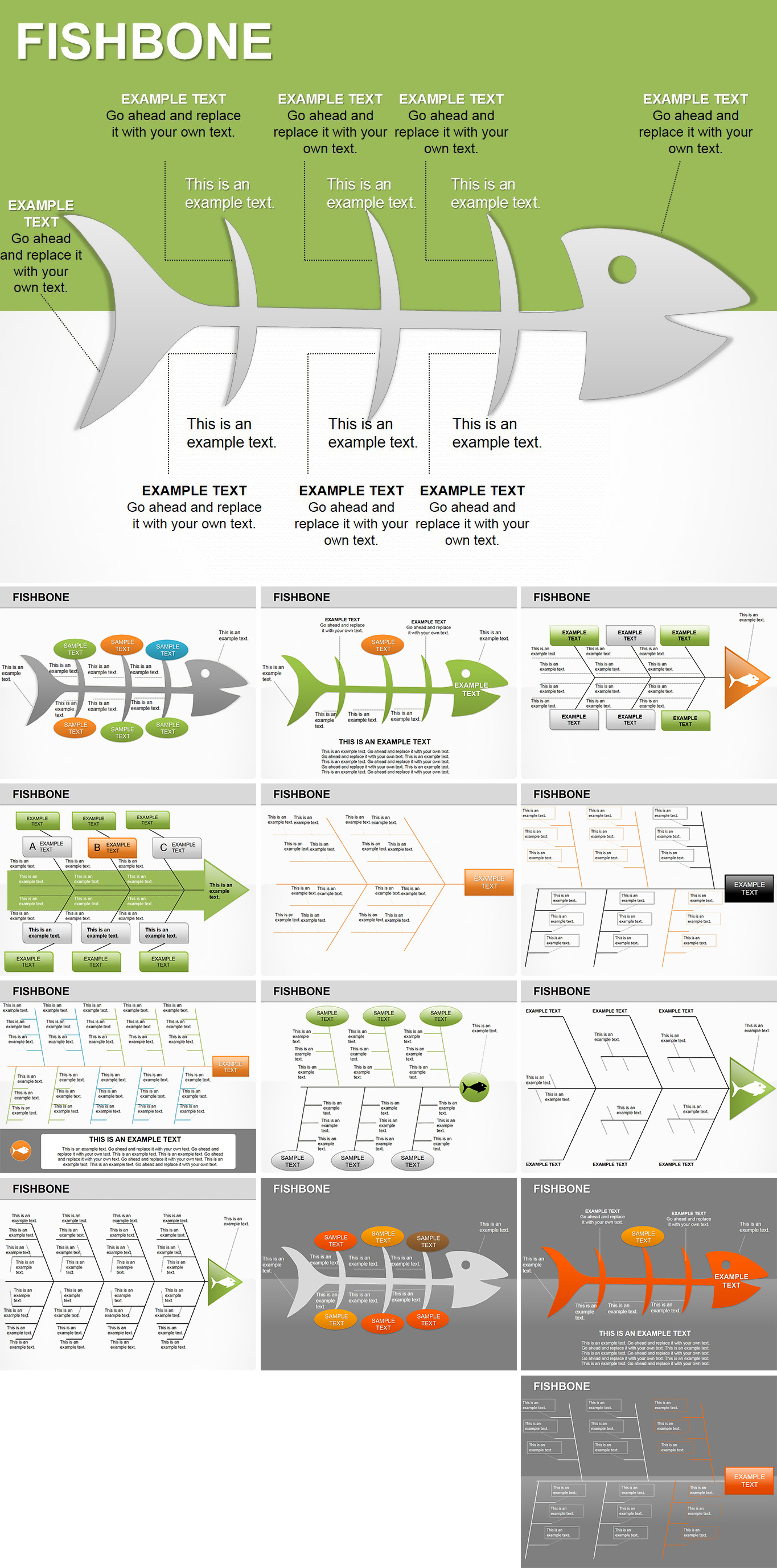 lean six sigma cause and effect diagram template jane schaffer spider example fishbone powerpoint diagrams imaginelayout