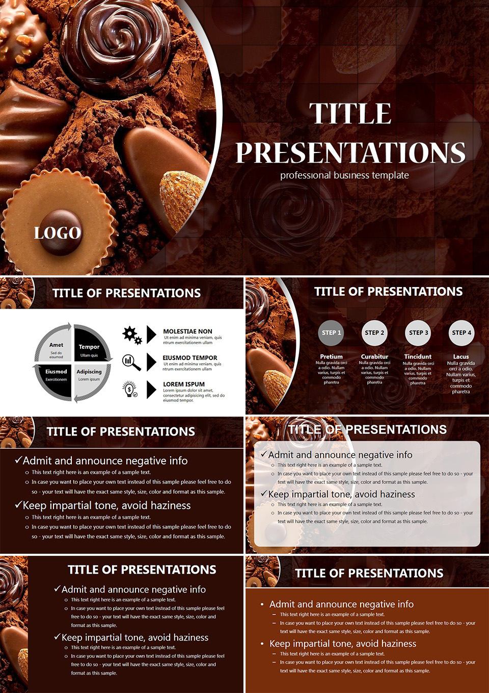 Chocolate Powerpoint Templates Imaginelayout Com
