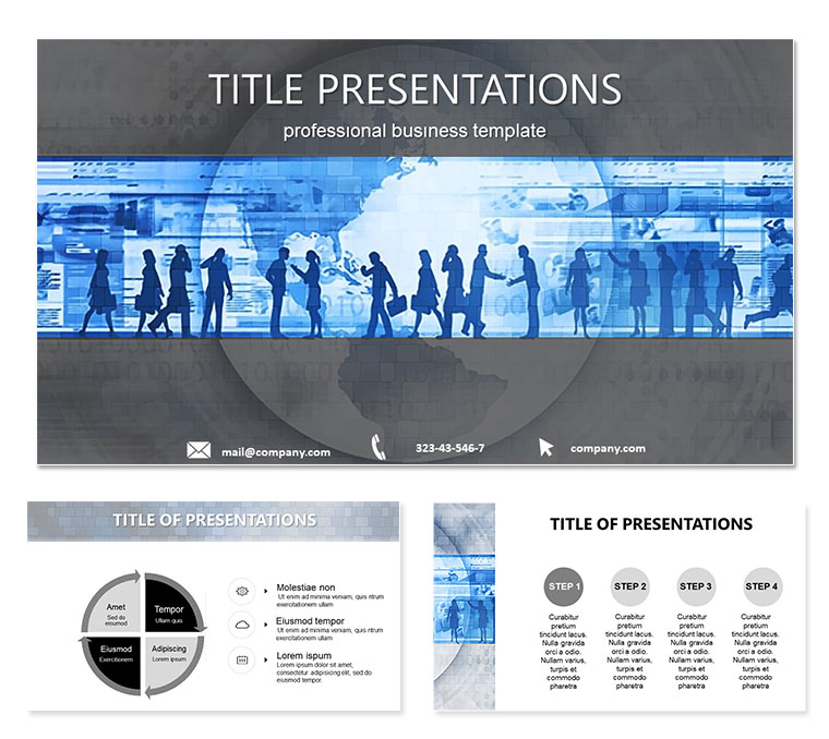 Sociology Behavior Of People Free PowerPoint Templates