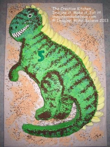 2d Basic Shaped Cakes Imagine Make Believe