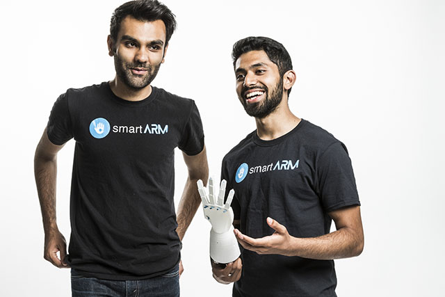 Group photo of team smartARM