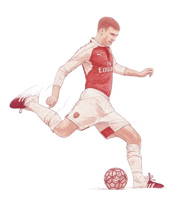 Portrait of Per Mertesacker published in Netjets Magazine