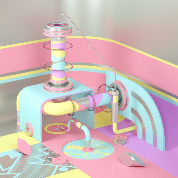 CREAM is a CGI Type Designer and Illustrator based out of Belgium balancing commercial work and personal explorations.