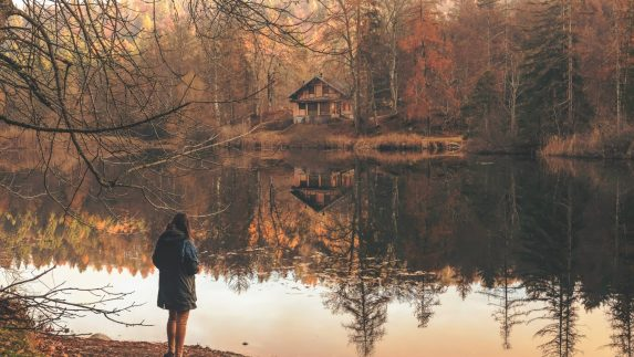 go for a walk or hike for fall self care rituals