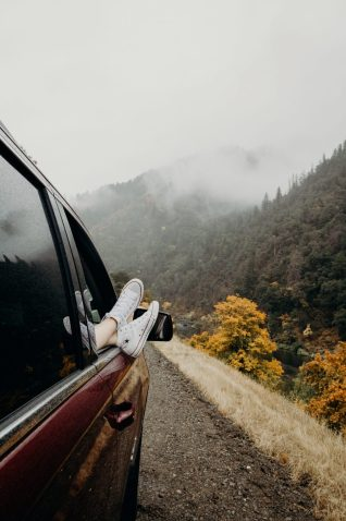 take a weekend trip