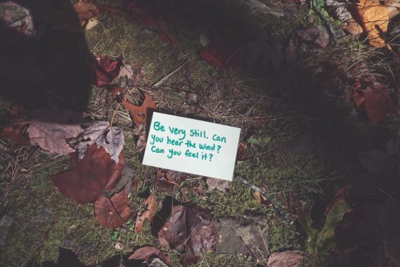 fall self care ritual is to write a happy list