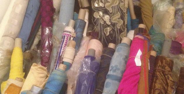 Vente exceptionnelle de tissus rares dimanche 16 octobre à Butry sur Oise