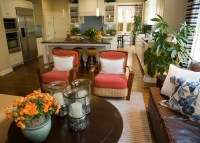 Living Room Center Table Decor Photograph