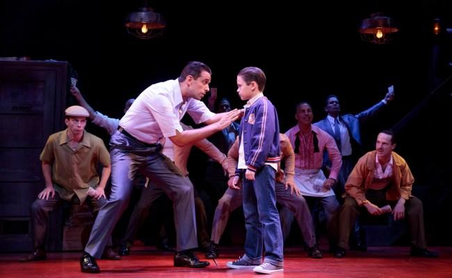 Show Photos A Bronx Tale Broadway
