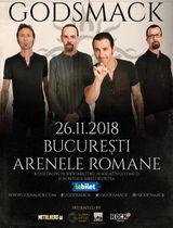 Concert Godsmack la Arenele Romane pe 26 Noiembrie