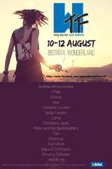WTF - Way Too Far Rock Festival 2018 intre 10 si 12 August in Bistrita