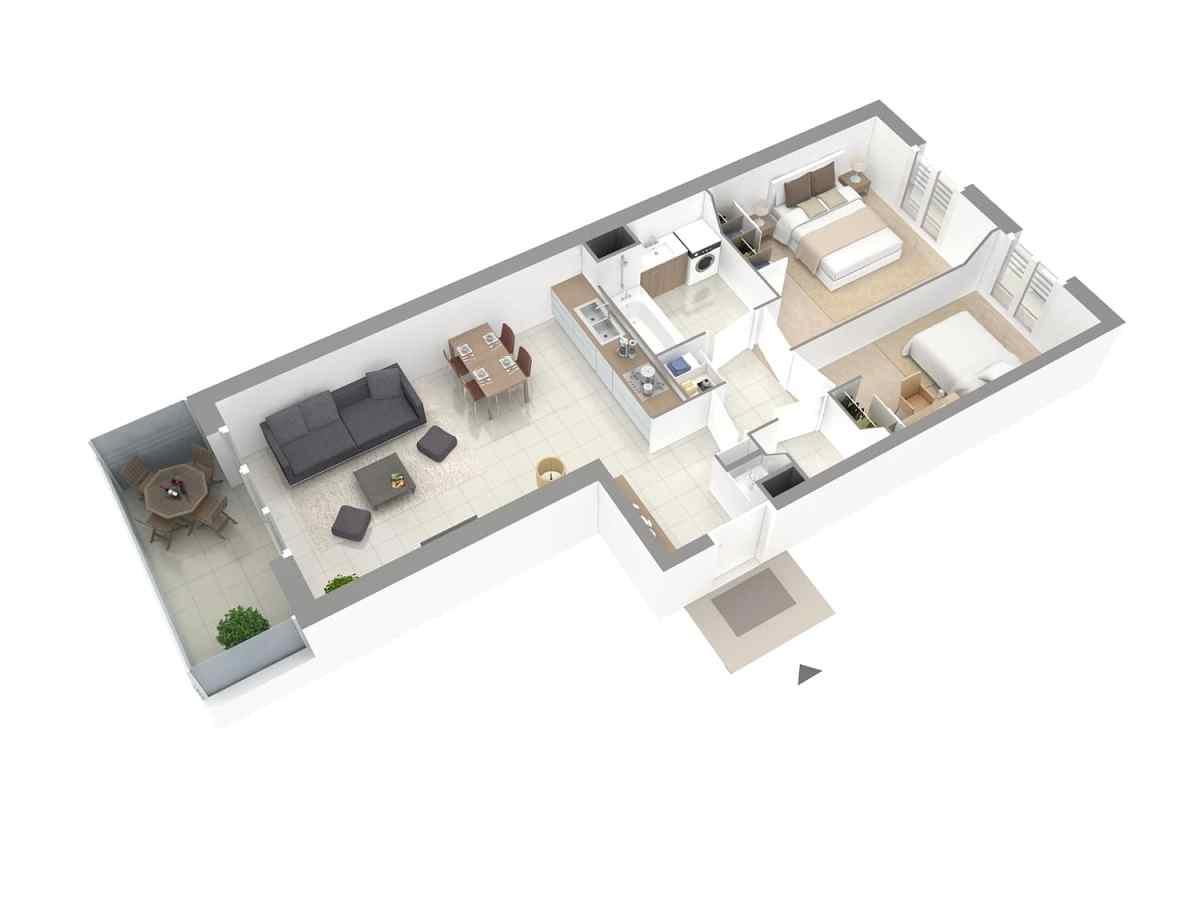 Galerie Plans 3D VEFA 7