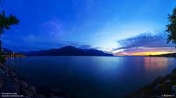 Lake Geneva at Dusk