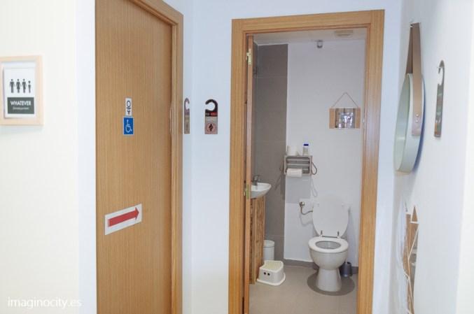 bathrooms / aseos