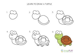 step easy drawing drawings draw sample child learn imagiplay idea samples activities paintingvalley