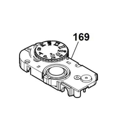 Sony Cybershot DSC-RX100 II M2 Inner Cabinet Top Assy On