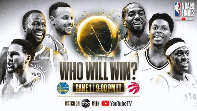 NBA Finali Golden State Warriors Toronto Raptors
