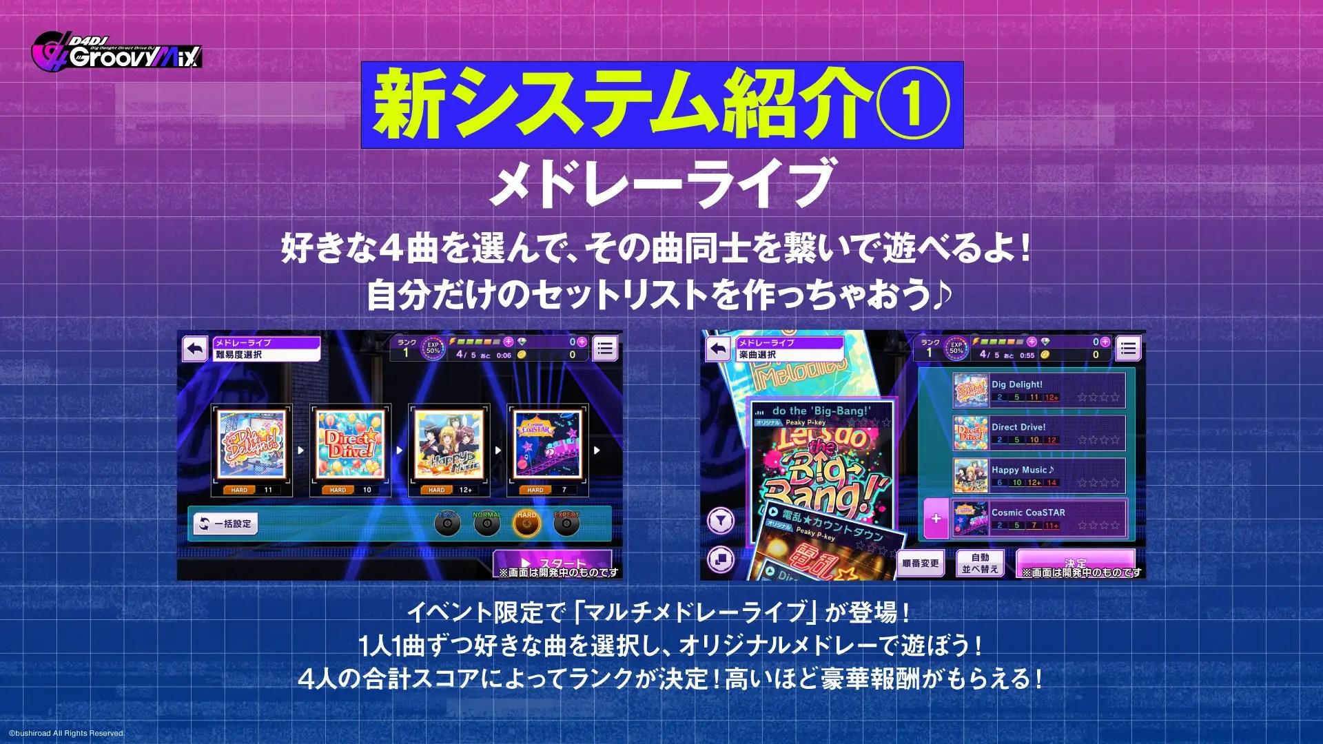 《D4DJ Groovy Mix》發售日確定 線上發佈會公開多頂新資訊 – Great Game 亞洲遊戲網