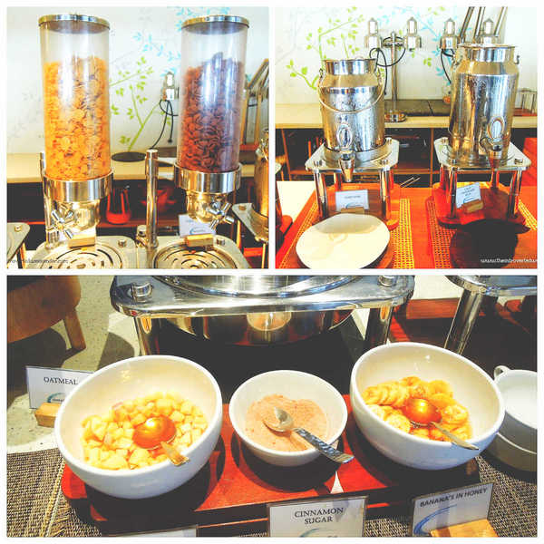 Oats and cereal station