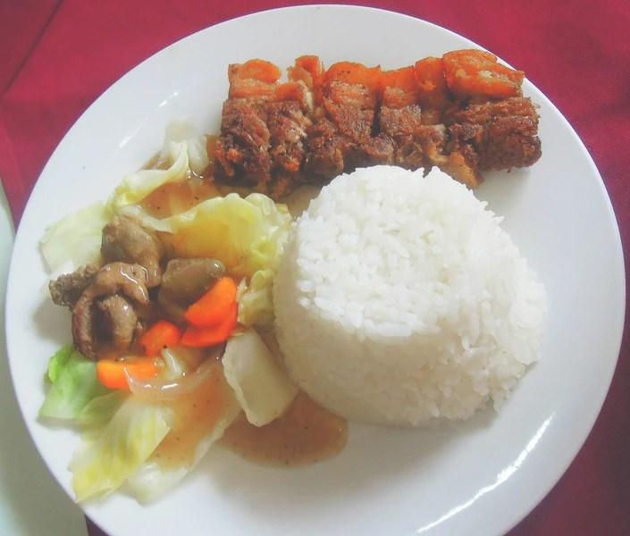 Lolo Claro's Restaurant liempo