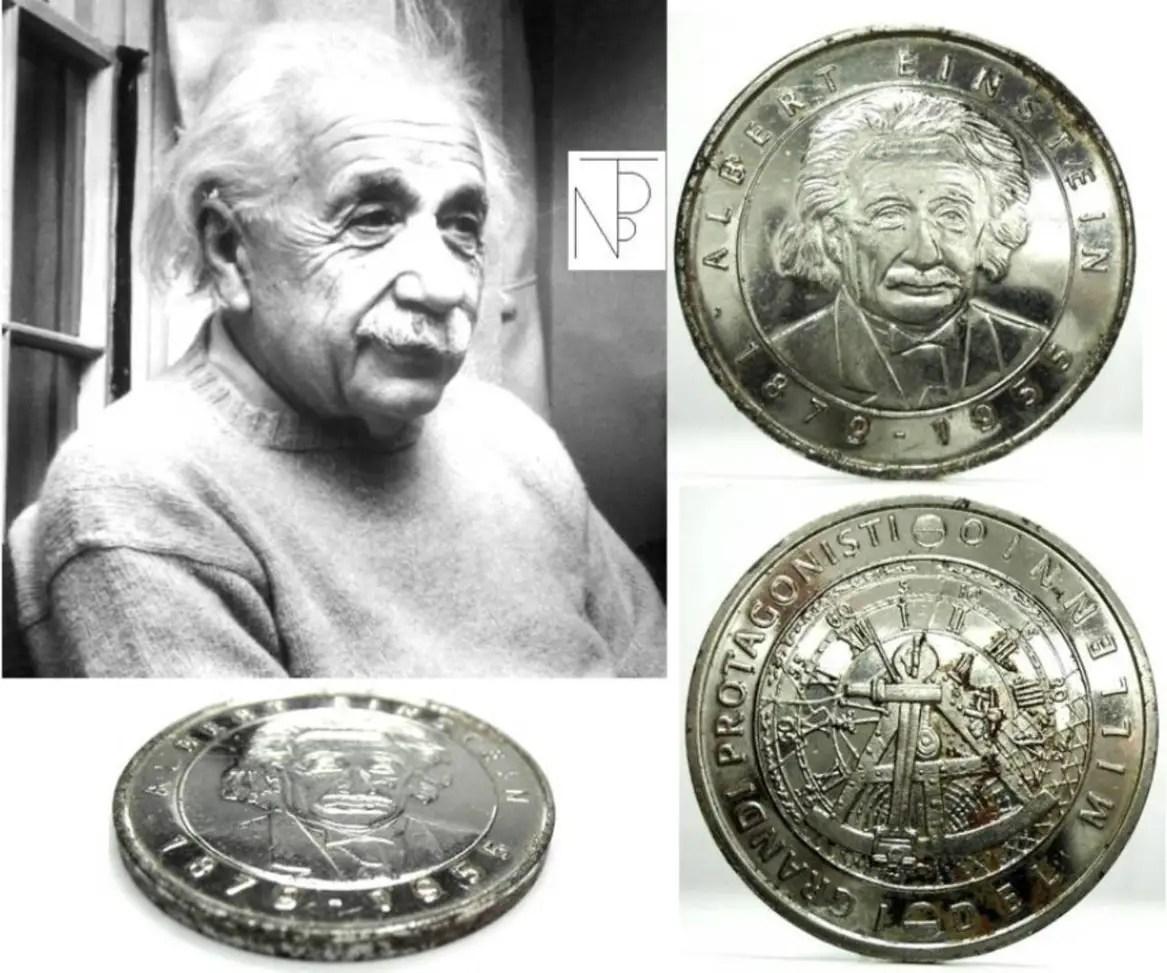 Scienza Albert EINSTEIN MEDAL Italy series  eBay