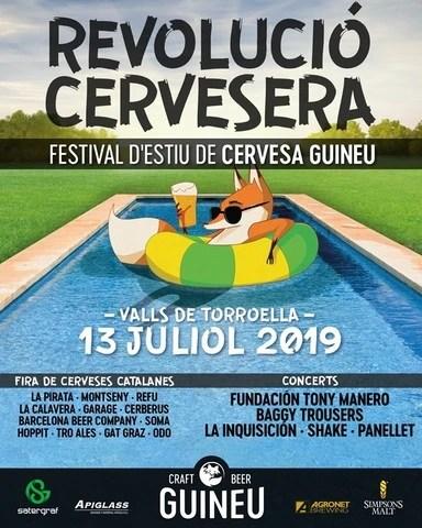 REVOLUCIO CERVESERA FESTIVAL D'ESTIU GUINEU 2019