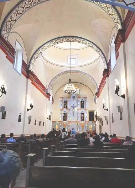 Alamo Missions interior