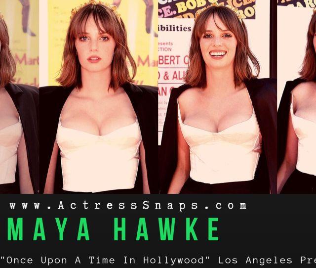 Maya Hawke Actress Snaps Pictures