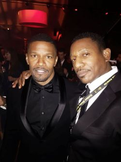 Jamie Foxx and Marcus Darc