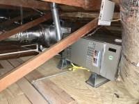 Lennox 4 ton horizontal two-zone system