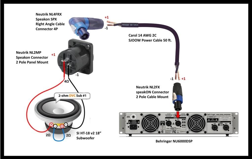 Speakon Wiring Diagram Inuke 3000 : 33 Wiring Diagram