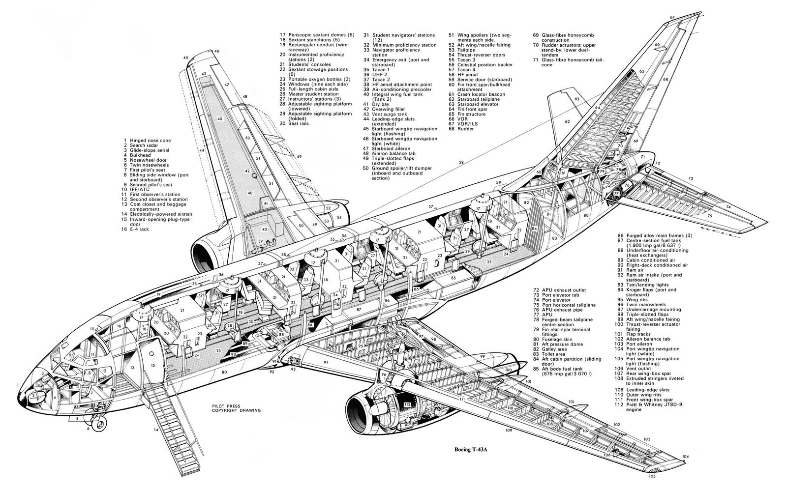 P 51 Mustang Diagram