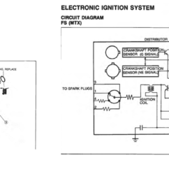 Ford Telstar Distributor Wiring Diagram Pioneer Avh P3200bt 2 Problem Mazda 626 1994 Replacing The Complete Unit Particularly Because It Works Once Car Started Could Capacitor Be Faulty Part Its Difficult To Get A New