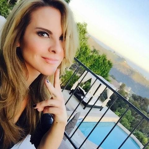 Kate del Castillo de vacaciones
