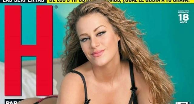 Candela Márquez en la Revista H