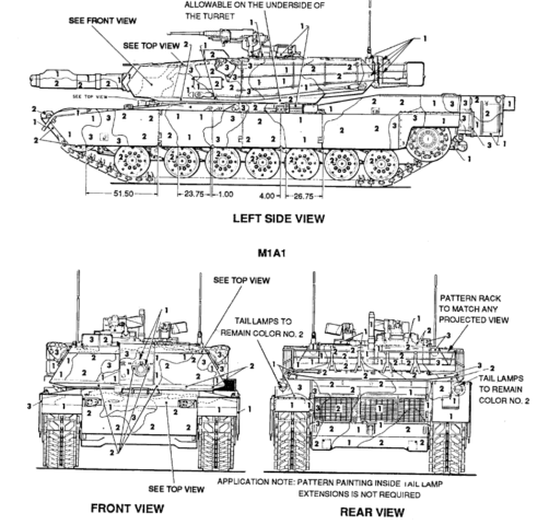ARMY VEHICULE CAMO AND MARKING MANUALS 1270pages- 4 PDF ON