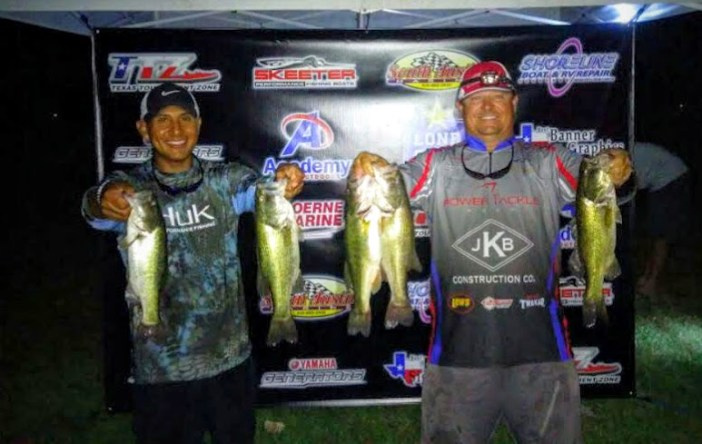 1st- Armando Saucedo and Donnie Oneal - 11.78 lbs - $160