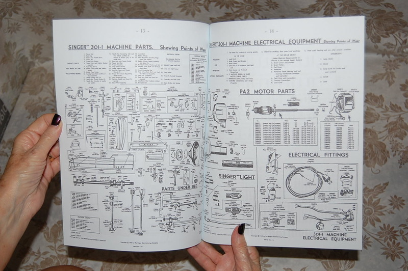 Sewing Machine Wiring Diagrams By Wln19278