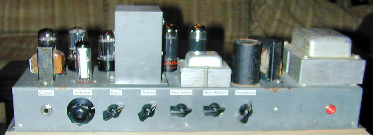 Hammond M3 Rebuild Into Bass Amp