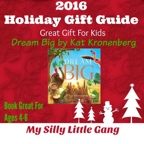Dream Big Kids Gift Idea Holiday Gift Guide
