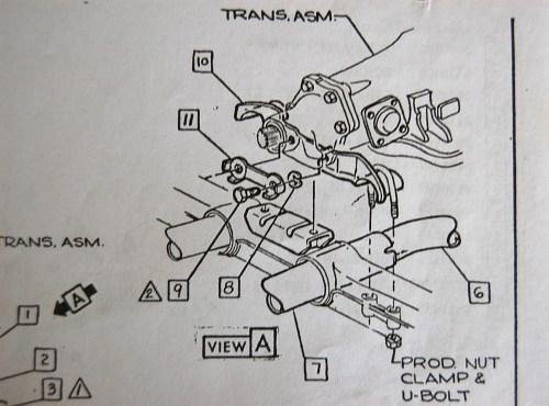 small resolution of exhaust center hanger bracket install corvetteforum chevrolet manual transmission mount diagram for a 1973 corvette