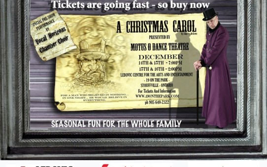 Motus O Dance Theatre Presents - A Christmas Carol