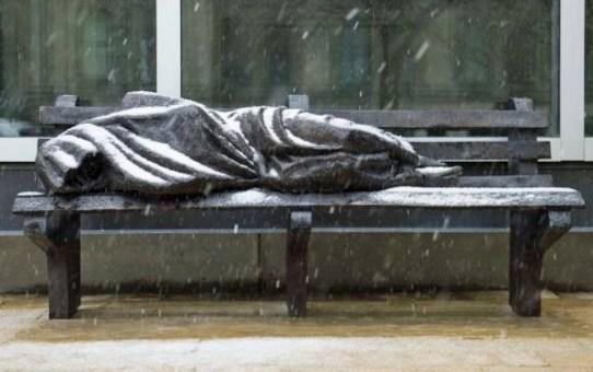 Jesus the Homeless Sculpture