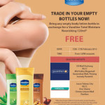 Trade In Your Empty Bottle For Free Vaseline Moisture Lotion