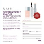 Complimentary samples of new RMK Malaysia