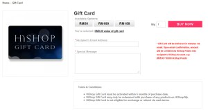 hishop gift card
